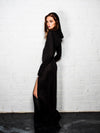 Enchantress - Black Magick - Long Sleeve Dress with Hood