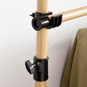 Walk-in Wardrobe Modular Wardrobe Wood Coat Rack