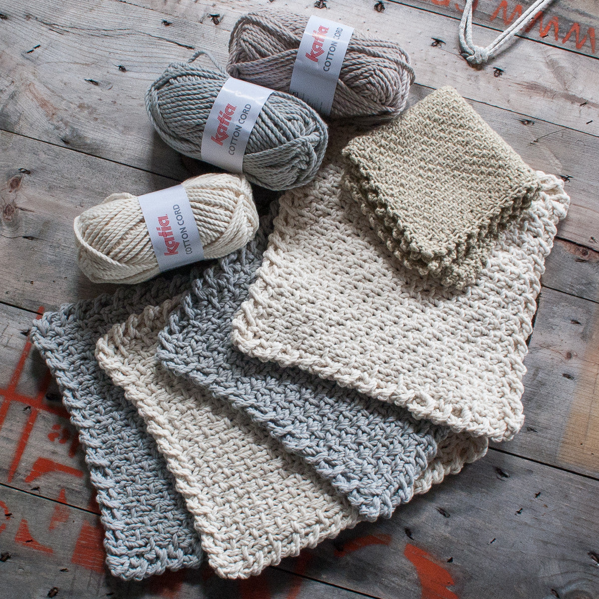 Half Linen Washcloth & Potholder - Free Pattern - Hill Country Weavers