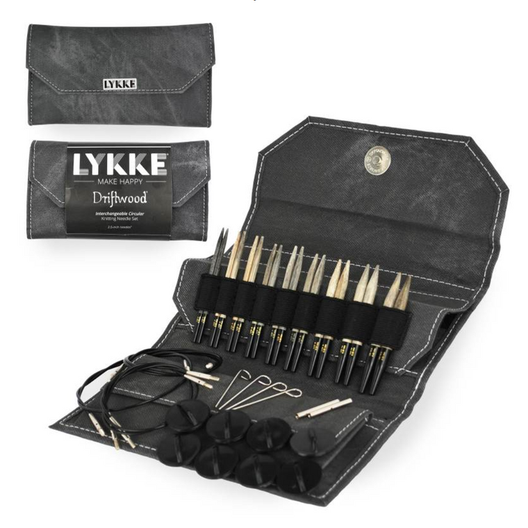 "Lykke Driftwood 3.5"" Interchangeable Needle Set"