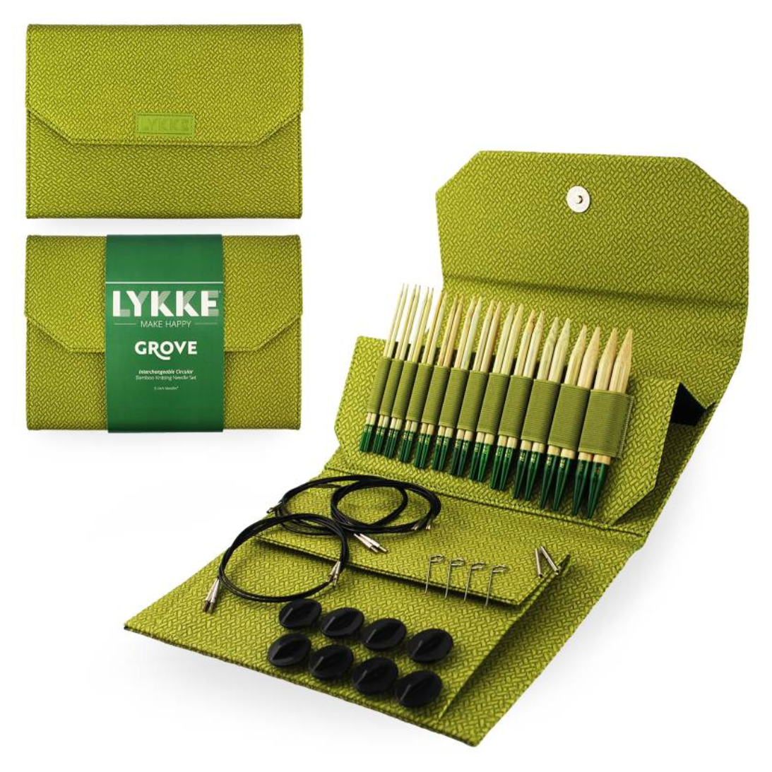 "Lykke Grove 5"" Interchangeable Needles Set"