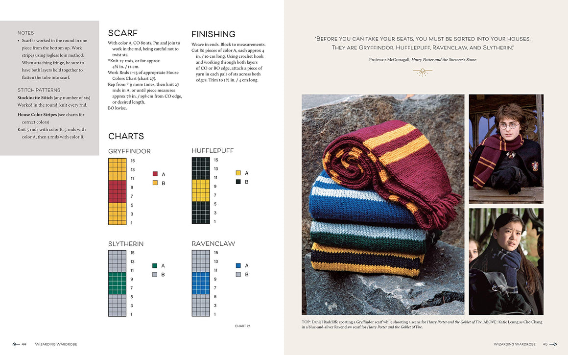Harry Potter : Knitting Magic