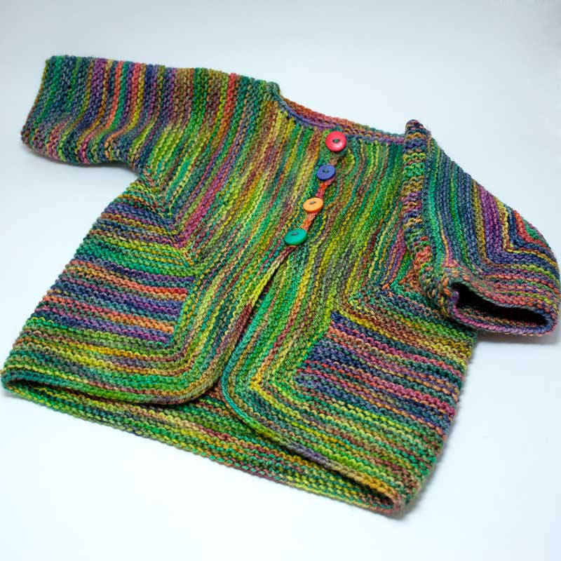Baby Surprise Jacket Hill Country Weavers