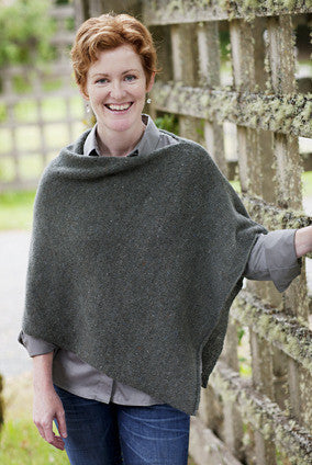 Easy Folded Poncho Pattern