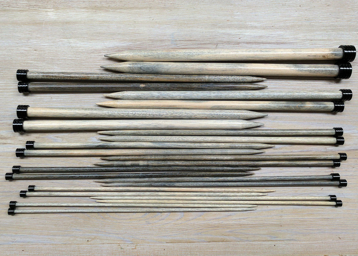Lykke Driftwood Straight Needles Set