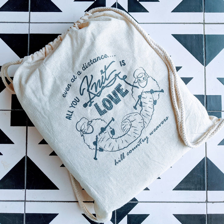 HCW Limited Edition Muslin Project Bag