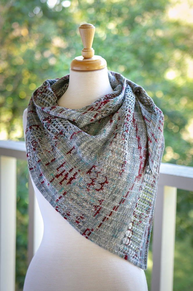 Autumn Road Shawl Pattern