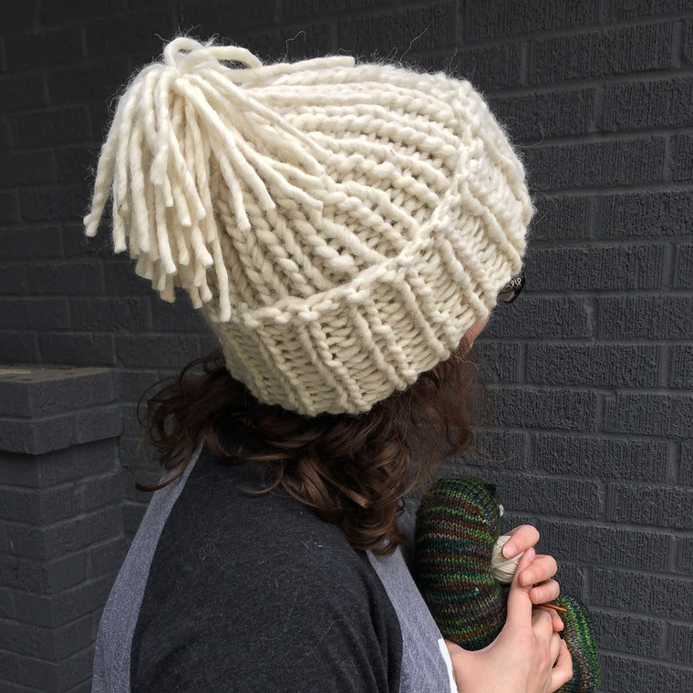 Free Pattern: Go for Gold Beanie