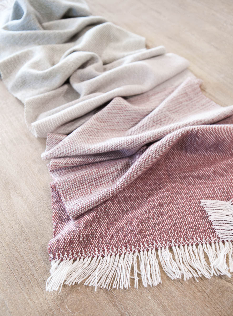 Pathways Home Woven Shawl