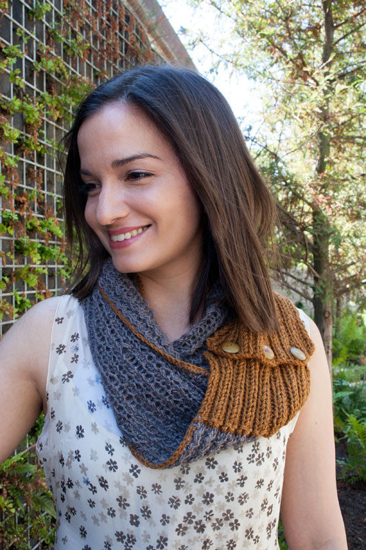 My Little Longhorn Cowl - Free Pattern