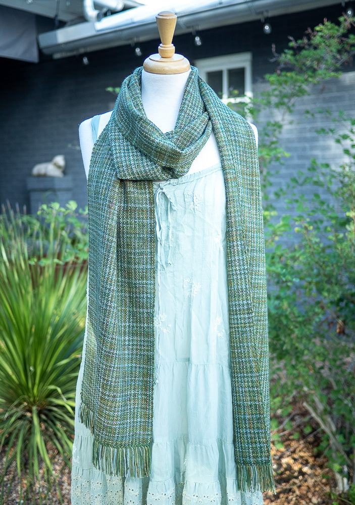 I Wish I was in Ireland Free Woven Scarf Pattern