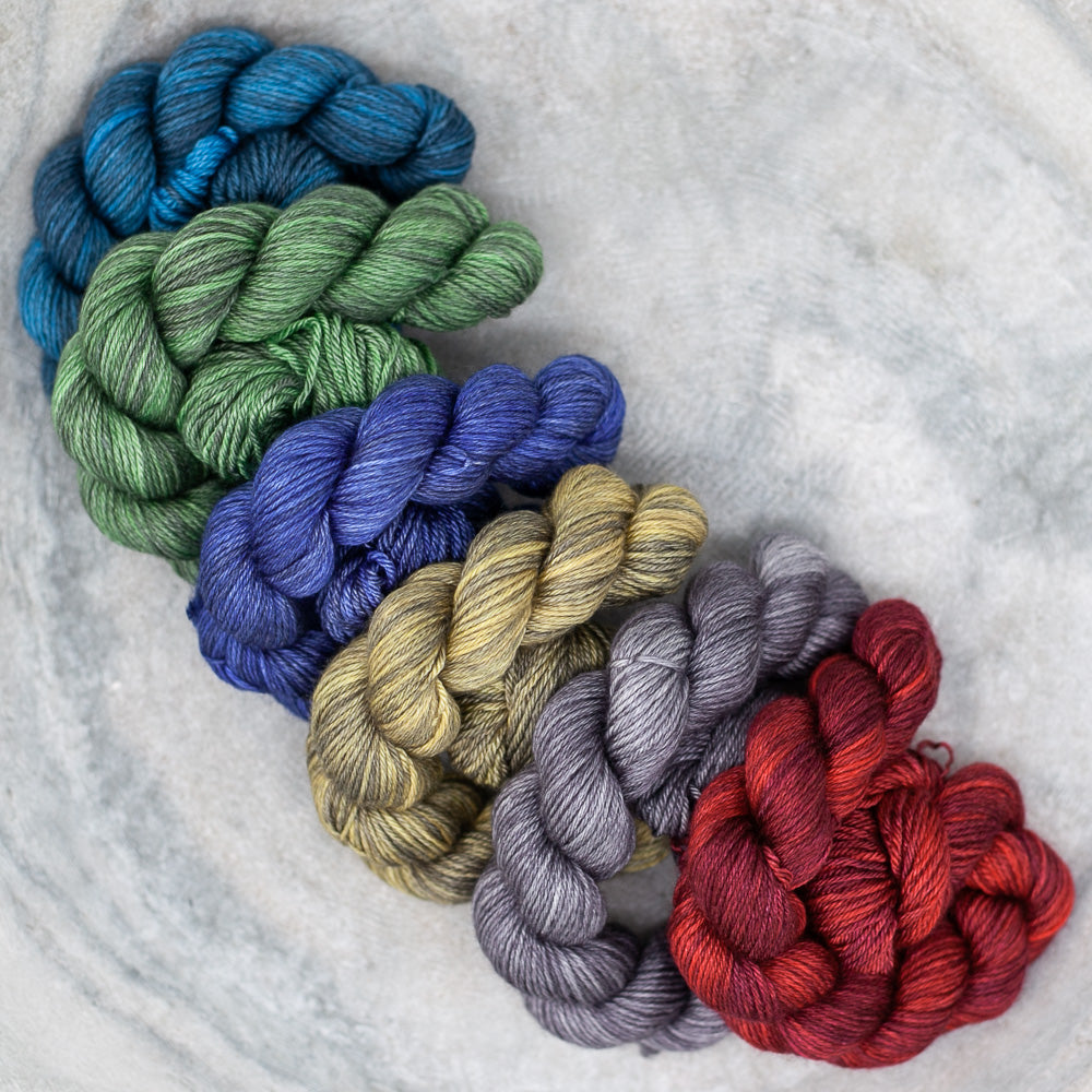 Canon Hand Dyes Shawl Sets