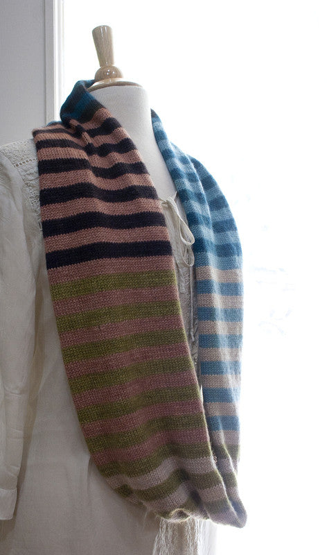 Road to China Striped Cowl