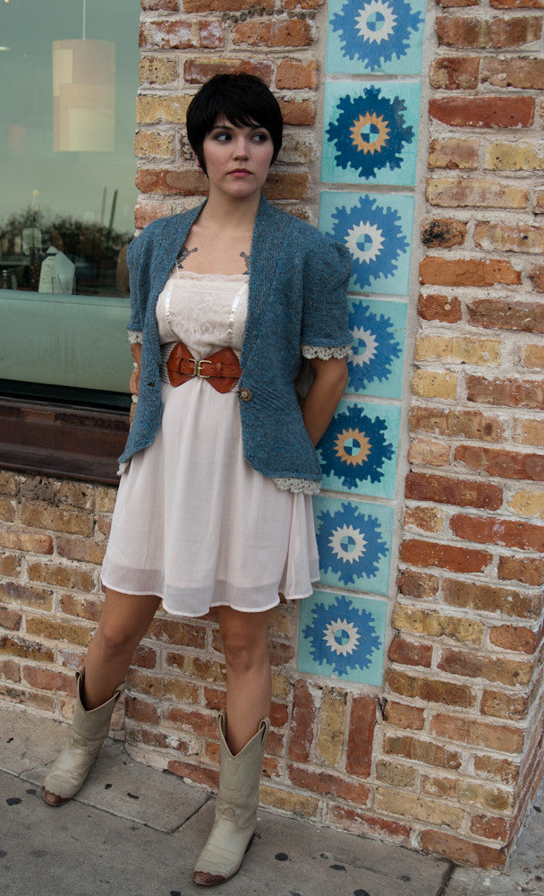 Sarah Rose Cardigan Pattern - PDF Download