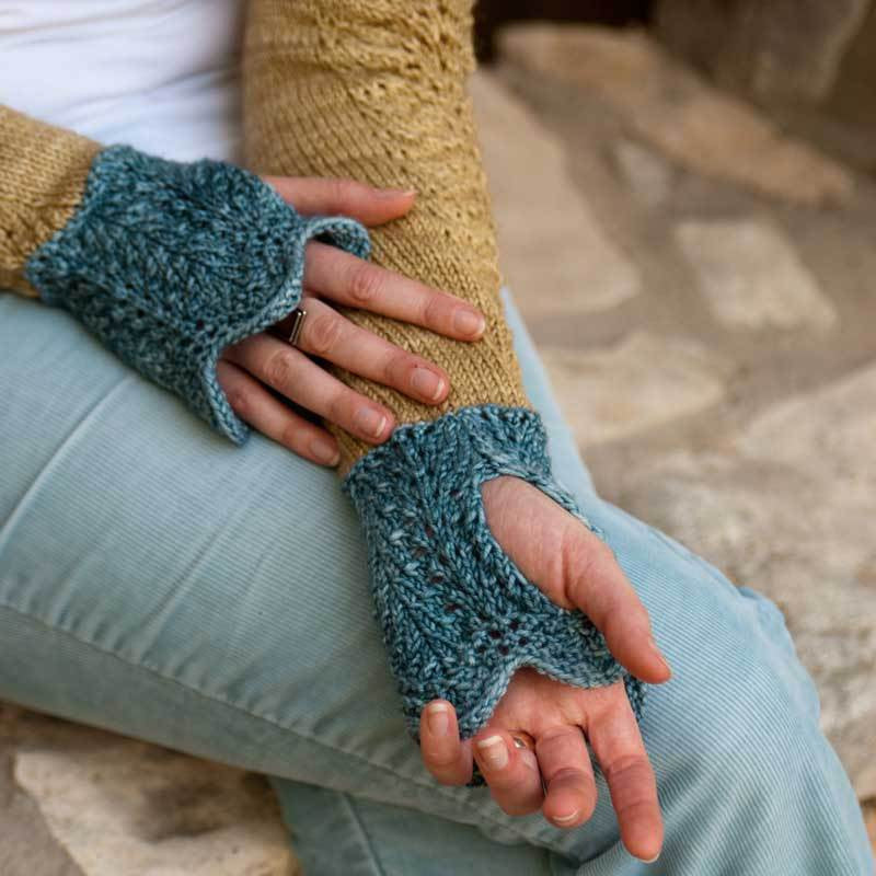 Blue Sage Shrug Pattern - PDF Download