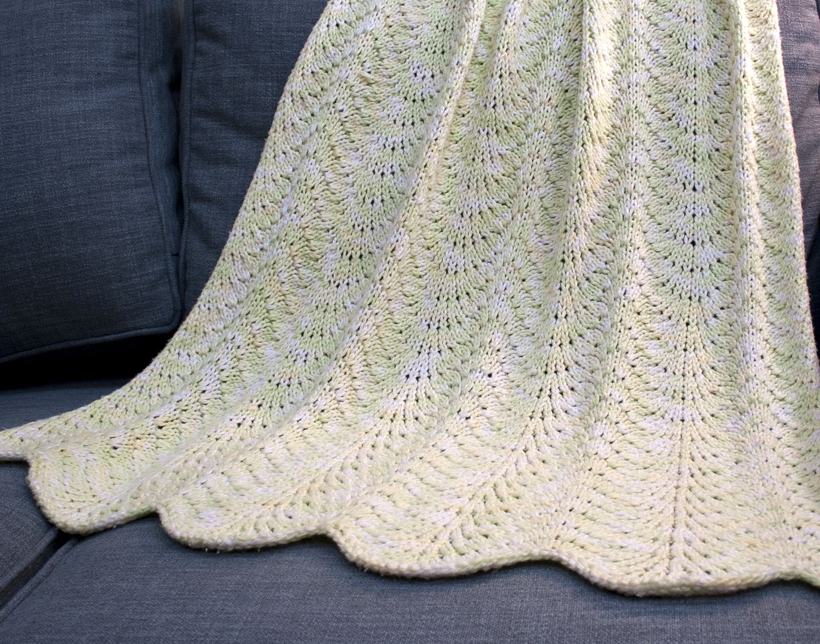 Sweet Pea Baby Blanket Hill Country Weavers