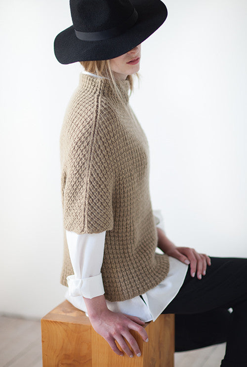 Woolfolk Knus - Textured Sweater Shell Pattern