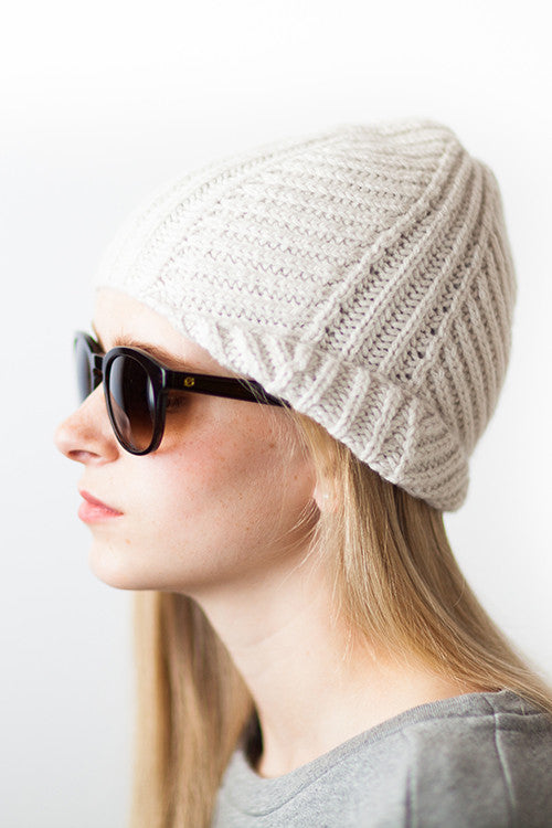 Woolfolk Knop - Fisherman's Rib Hat Pattern