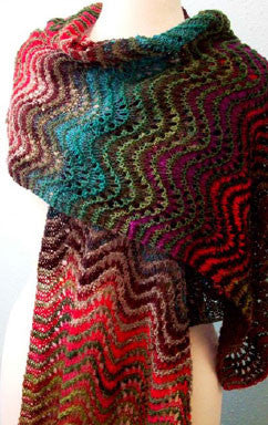 Winding Fields Shawl