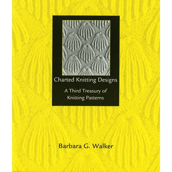 Charted Knitting Designs Third Treasury - Barbara Walker