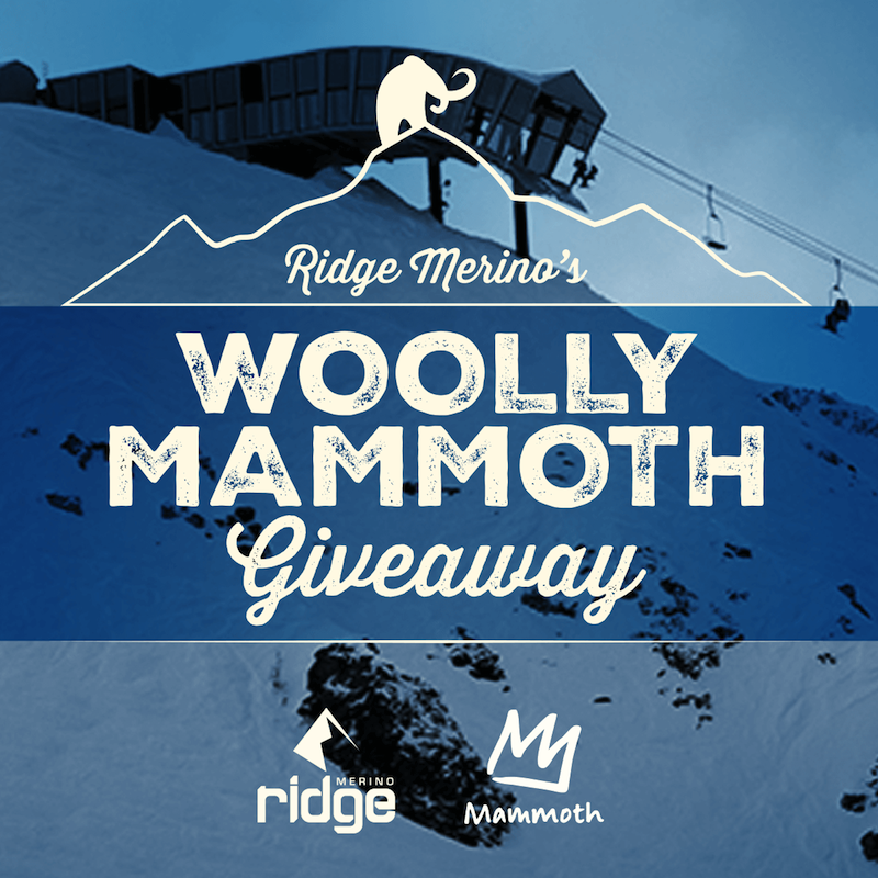 Enter to Win Prizes in the Ridge Merino Woolly Mammoth Giveaway!