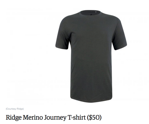 Ridge Journey T-shirt in Outside Buyer's Guide