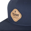Ridge Merino Eastside Navy Patch detail