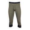 Men's Inversion Midweight Merino Wool Thermal Underwear - 3/4 Length