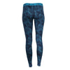 Women's Inversion Midweight Merino Base Layer Pants - Atmospheric River Print