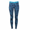 Women's Inversion Midweight Bottoms Atmospheric River Print - Merino Wool Baselayer