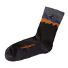 Minaret Lightweight Merino Wool Hiking Crew Socks
