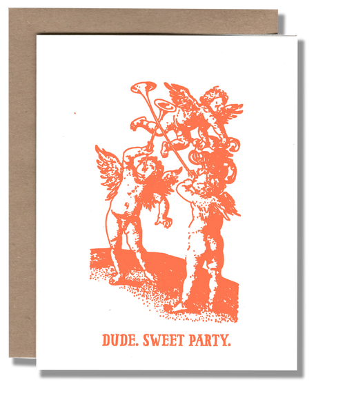 Sweet Party Card