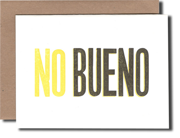 No Bueno Card - {neighborhood}