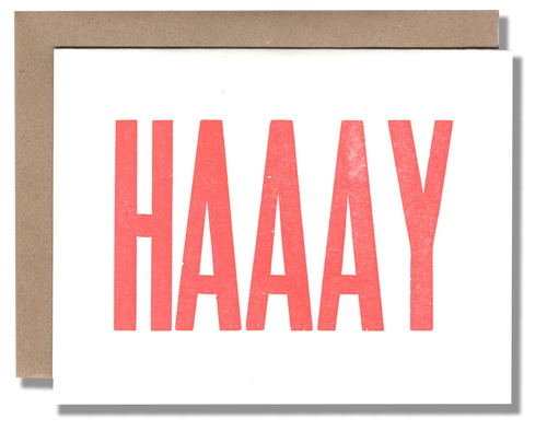 Haaay Card - {neighborhood}
