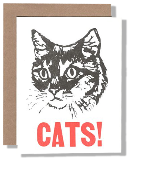 Cats! Card - {neighborhood}