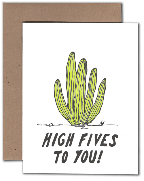 High Fives Card - {neighborhood}