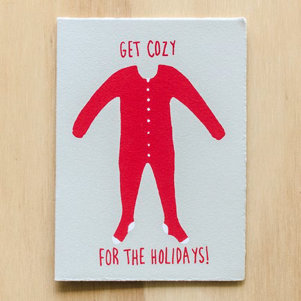 Get Cozy For the Holiday Card - {neighborhood}