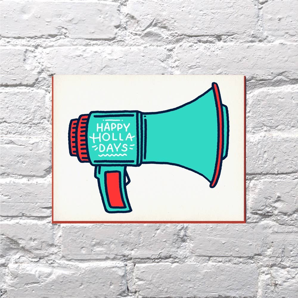 Holla Days Card - {neighborhood}
