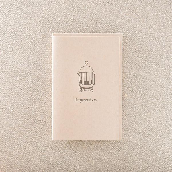 Impressive French Press Card - {neighborhood}