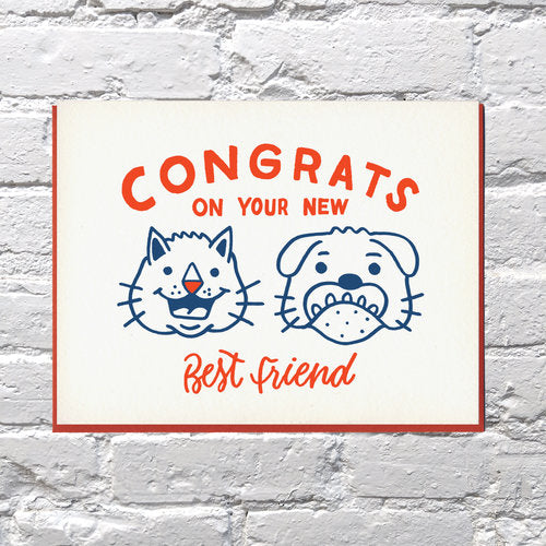 New Best Friend Card - {neighborhood}