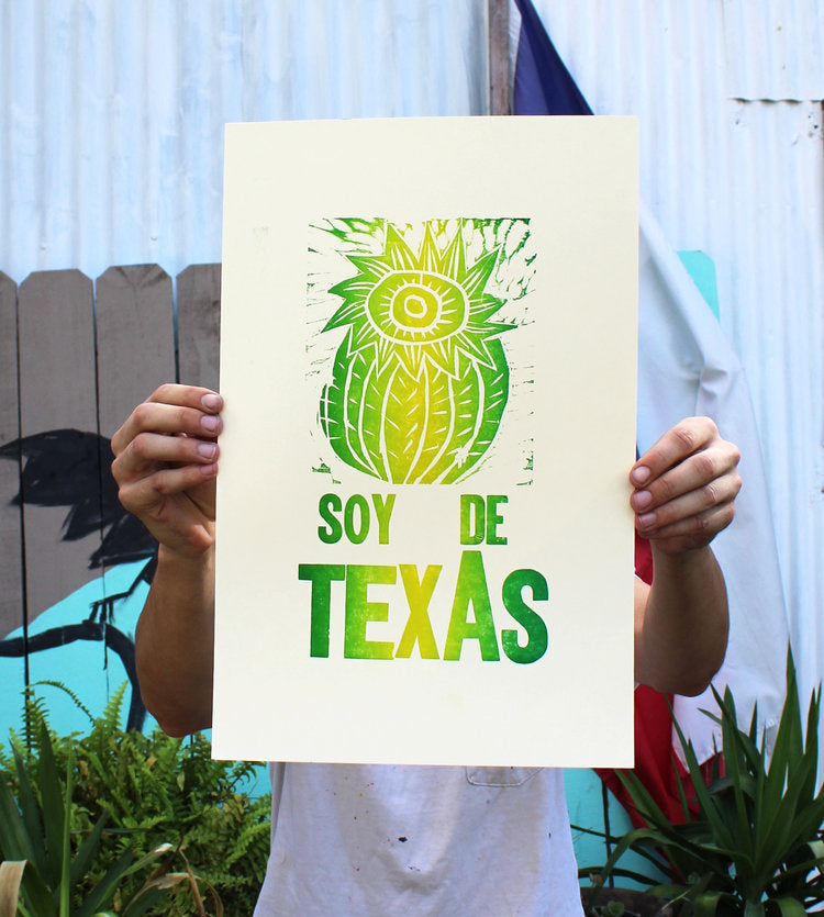 Soy Te Texas Print - {neighborhood}