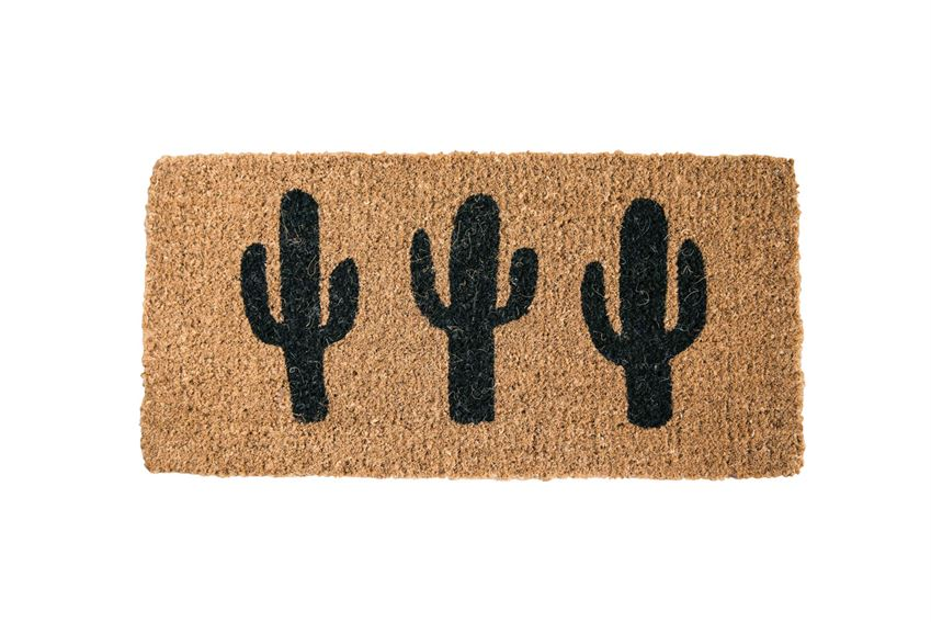 Cacti Doormat - {neighborhood}