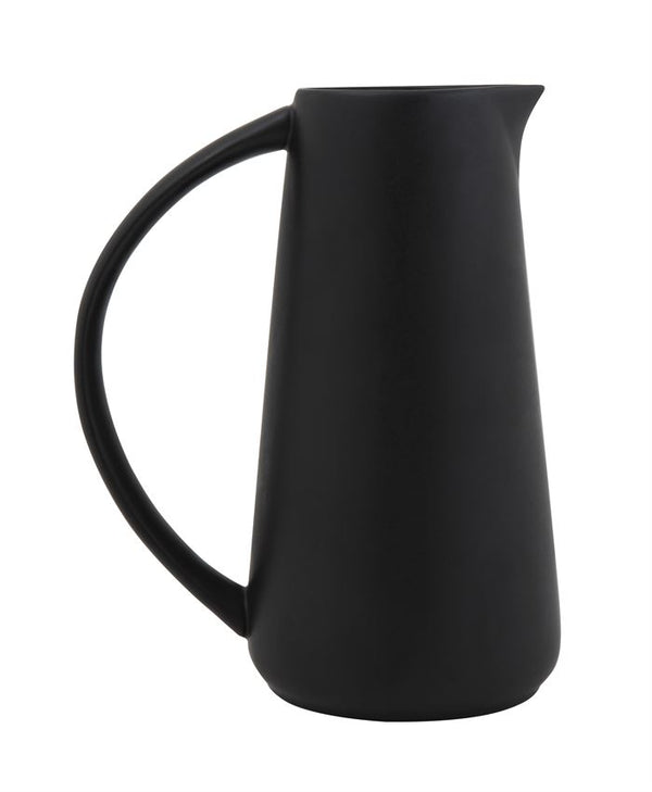 Matte Black Pitcher - {neighborhood}