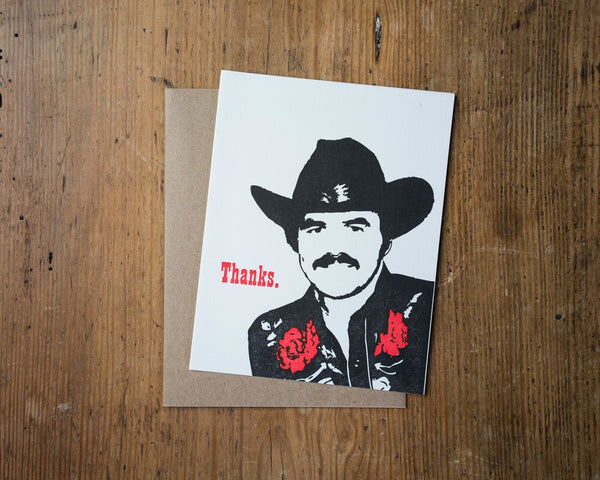 Burt Thanks Card - {neighborhood}