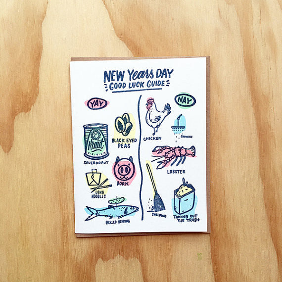 New Years Card - {neighborhood}