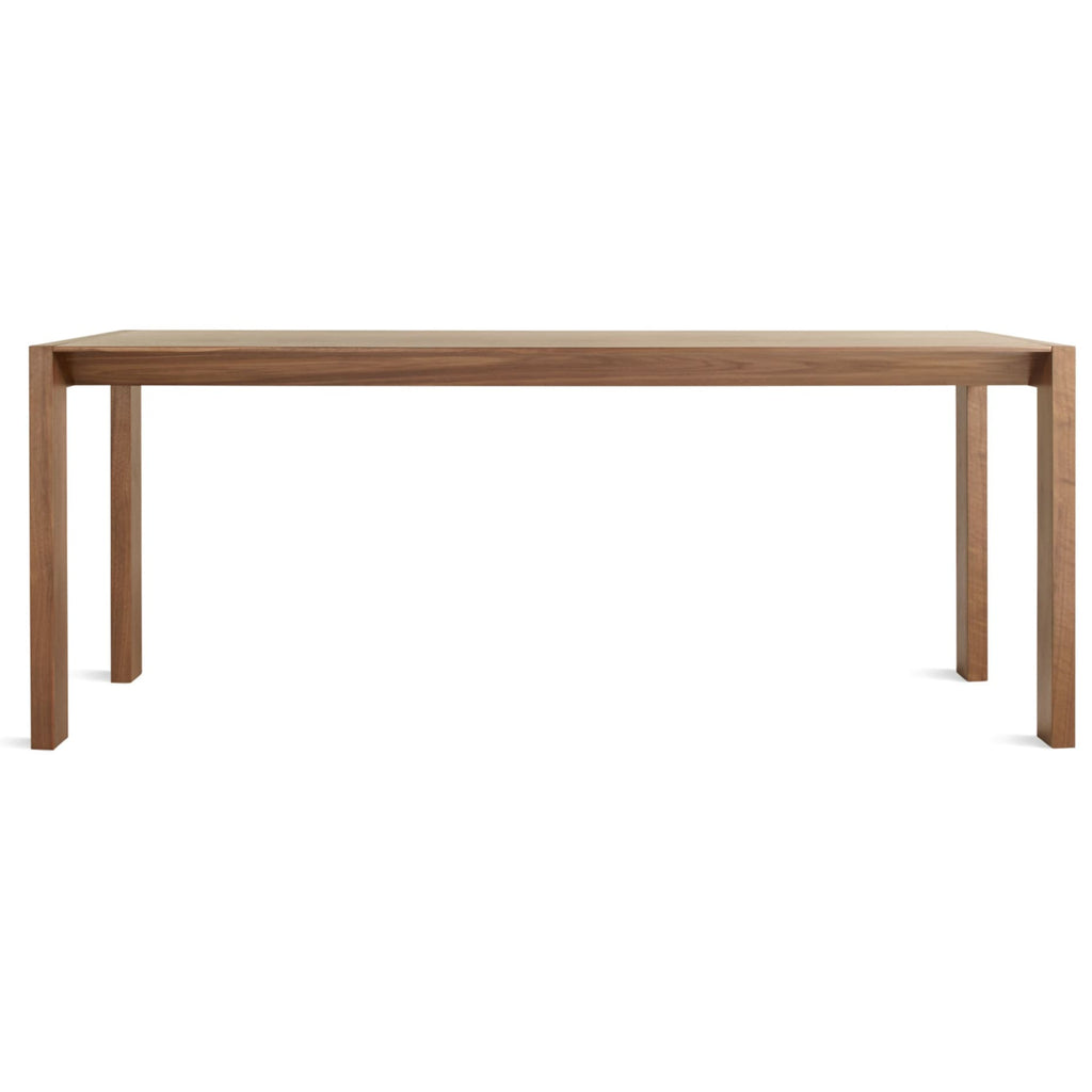 "Second Best 76"" Wood Dining Table - {neighborhood}"