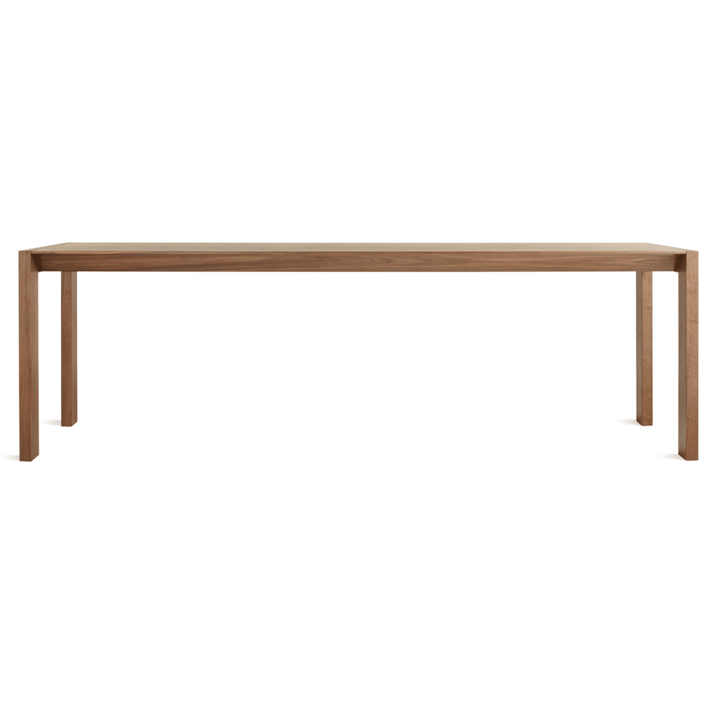 "Second Best 95"" Wood Dining Table - {neighborhood}"