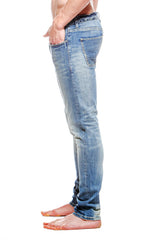 Mens 5 Pkt Jean Light Vintage