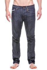 Mens 5 Pocket Skinny Jean Raw