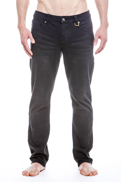 Mens 5 Pocket Woven Pant Panther